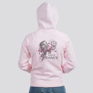 Love to Dance Women's Zip Hoodie
