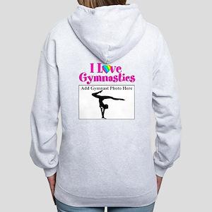 GYMNAST LOVE Women's Zip Hoodie