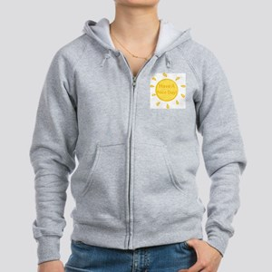 Have A Nice Day Women's Zip Hoodie
