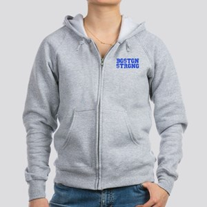 boston-strong-coll-blue Zip Hoodie