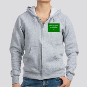 If you cant be Irish at home.. Women's Zip Hoodie