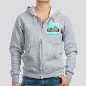 Cool Rod & Reel Pier Women's Zip Hoodie