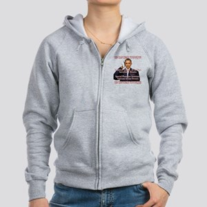 He Can Hear You Now Zip Hoodie
