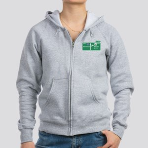 Road to Serfdom: Junction Women's Zip Hoodie