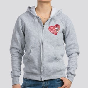 Snoopy - Kisses Women's Zip Hoodie