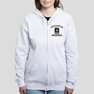 768b803c Proud U.S. Army Sister Women's Zip Hoodie. $88.00, · Proud Army Sister  Hooded Sweatshirt