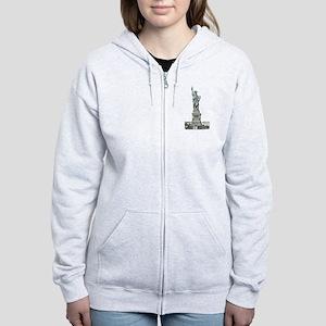 Statue of Liberty Women's Zip Hoodie