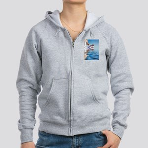 You Can Do Anything Affirmati Women's Zip Hoodie