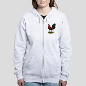 Big Red Rooster Women's Zip Hoodie