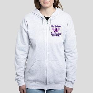 Chiari Awareness Women's Zip Hoodie