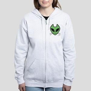 AlienKitty Women's Zip Hoodie