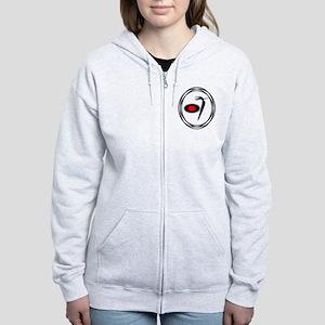 Native American RoadRunner design Women's Zip Hood
