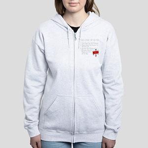Code-of-Elves Women's Zip Hoodie