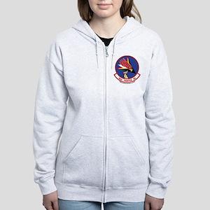 492nd FS Women's Zip Hoodie
