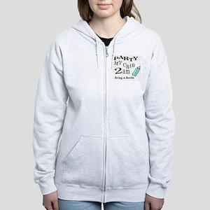 partymy crib Women's Zip Hoodie