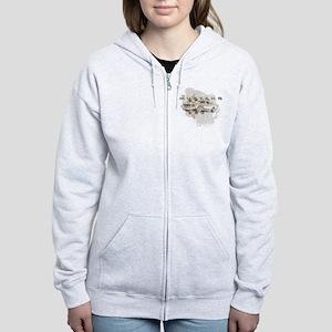 mustang1 Women's Zip Hoodie