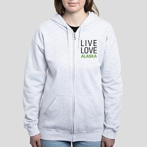 Live Love Alaska Women's Zip Hoodie