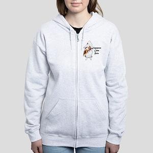 NO-HeartStormy Women's Zip Hoodie