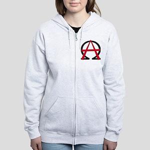 Christain Anarchy Women's Zip Hoodie