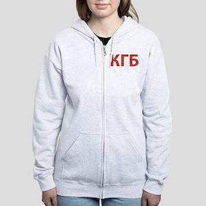 Vintage KGB Women's Zip Hoodie