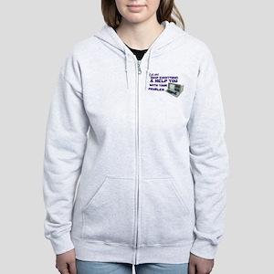 Drop Everything & Help You Women's Zip Hoodie
