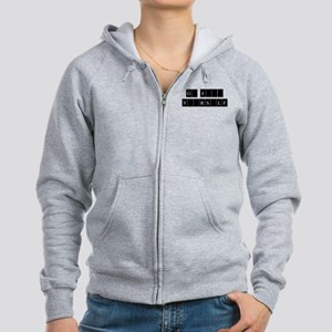 Go F Yourself for 2 sided Ite Women's Zip Hoodie