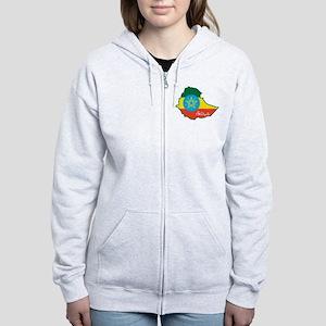 Cool Ethiopia Women's Zip Hoodie