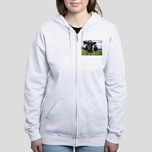 Heres Lookin At You Babe! Women's Zip Hoodie