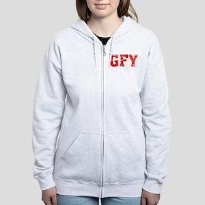 GFY Women's Zip Hoodie