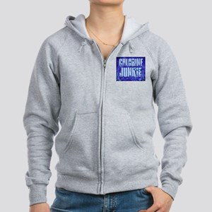 ChlorineJunkie4 Women's Zip Hoodie