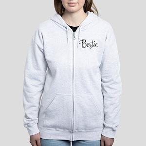Bestie Women's Zip Hoodie