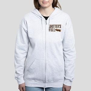 Shitter's Full Women's Zip Hoodie