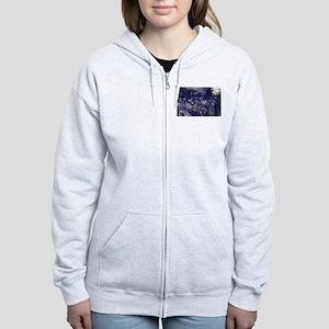 Alaska Flag Women's Zip Hoodie