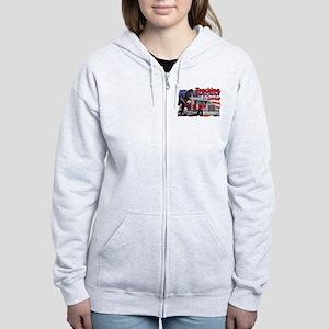 Trucking USA Women's Zip Hoodie