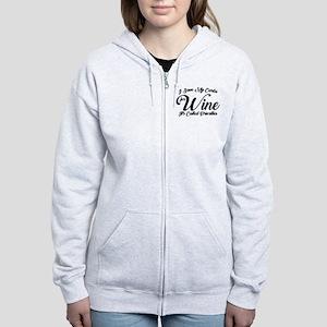 SATC Wine Pink Women's Zip Hoodie