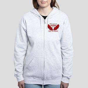 Ruby Slippers Rule Women's Zip Hoodie