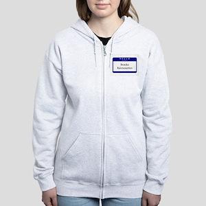Brooke Bakmounten Women's Zip Hoodie