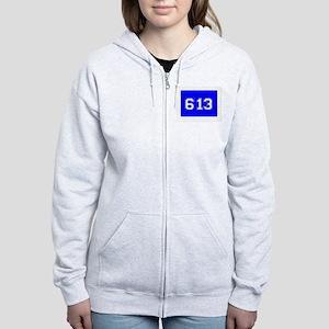Jewish 613 Women's Zip Hoodie