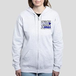 Needs A Cure ALS T-Shirts & Gifts Women's Zip Hood