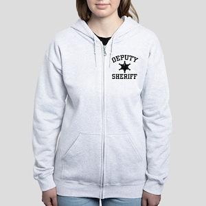 Deputy Sheriff Women's Zip Hoodie