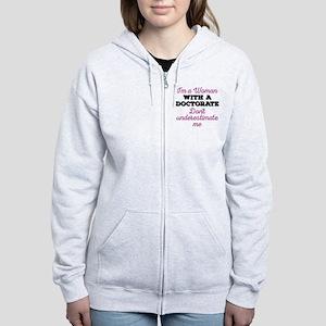 Women Doctorate Women's Zip Hoodie