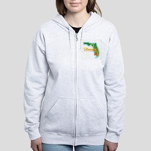 Florida Women's Zip Hoodie