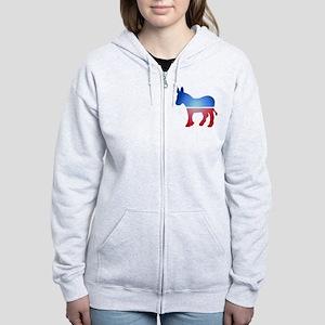 Blurry Donkey Women's Zip Hoodie
