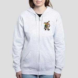 Moose Hiking Sweatshirt