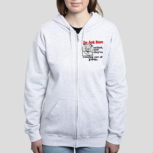The Jerk Store Women's Zip Hoodie