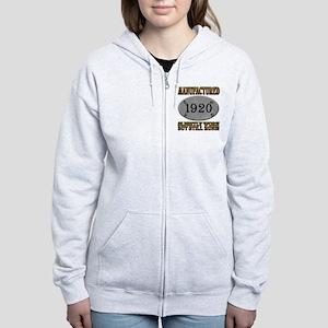 Manufactured 1920 Women's Zip Hoodie