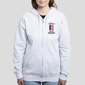 9 11 Remembering Women's Zip Hoodie