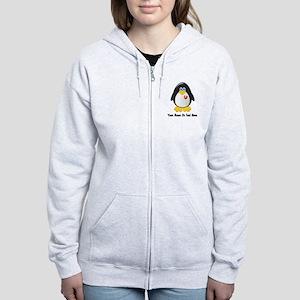 Customizable Penguin Women's Zip Hoodie
