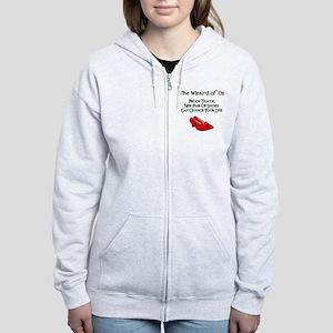 Dorothy's Ruby Red Slippers Women's Zip Hoodie