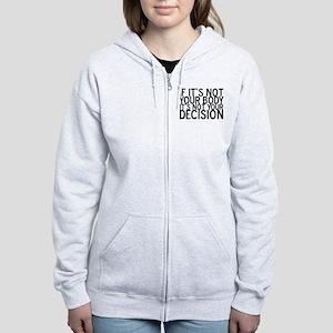 ProChoice Women's Zip Hoodie